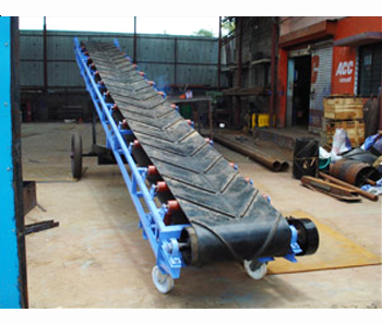 Portable Belt Conveyors, Portable Belt Stacker, Manufacturer, India