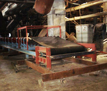 Modified belt conveyor system